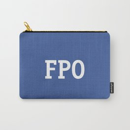 For Placement Only - FPO - Artwork (Facebook Blue) Carry-All Pouch