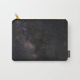 Milky Way Galaxy Wall Art | Stars Universe Space Cosmos Nebula Night Sky Photography Print Carry-All Pouch