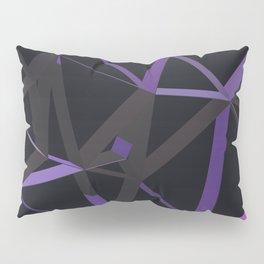 3D Futuristic GEO Lines XII Pillow Sham