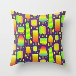 Dayglo Pops Throw Pillow