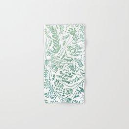 GREEN HERBS Hand & Bath Towel