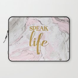Speak Life Laptop Sleeve