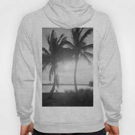 Black and White Florida Palm Trees Photograph (1915) Hoody