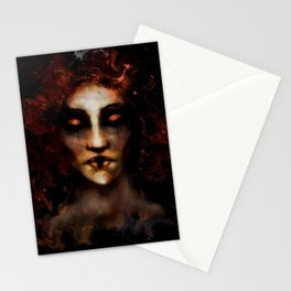 Fire Ghost 2 Stationery Cards