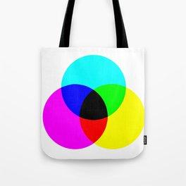CMYK Color Model Tote Bag