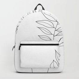 Minimal Hand Holding the Branch III Backpack