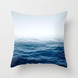 Cranky Ocean Throw Pillow