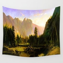 William Keith Yosemite Valley Wall Tapestry