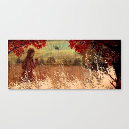 By the woods Canvas Print