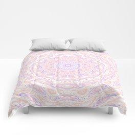 Funky mandala Comforters