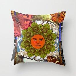 Energy Of The Sun Throw Pillow