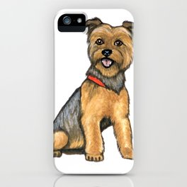 yorkshire terrier iPhone Case