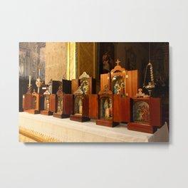 Holy Family shrines Metal Print