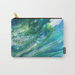 Green Seas Carry-All Pouch