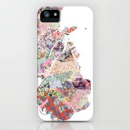 Augusta map iPhone Case