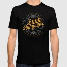 Book hangover Mens Fitted Tee Black MEDIUM