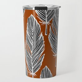 AuburnFeather Print Travel Mug