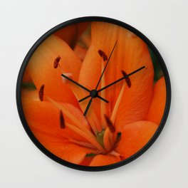 Bright lily Wall Clock