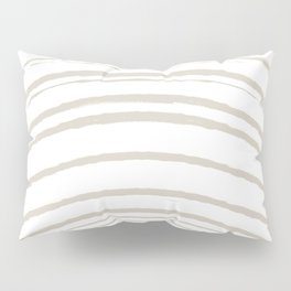 Zen Sunrise - White Pillow Sham