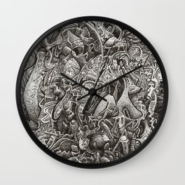 The Hardest Part, by Brian Benson Wall Clock