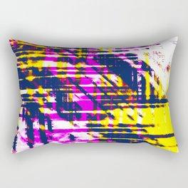 Aesthetic Urban Abstract Visual Art Pop Art Colors Rectangular Pillow