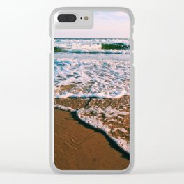 Waves at Dusk Clear iPhone Case