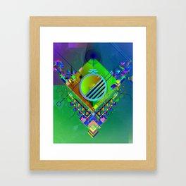 Cubiculum Framed Art Print