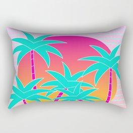 Hello Miami Sunset Rectangular Pillow