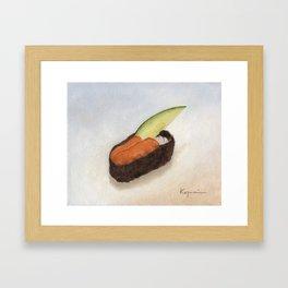 Uni Sushi Framed Art Print
