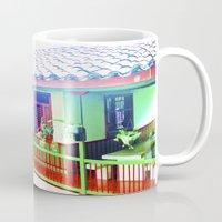 colombia Mugs featuring Colombia Coffee Park. by Alejandra Triana Muñoz (Alejandra Sweet