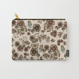 Silvestre pattern Carry-All Pouch