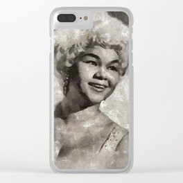 Etta James by MB Clear iPhone Case