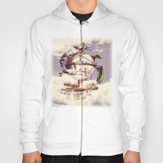 Drifting Through the Clouds Hoody