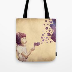 Cosmic Bubbles Tote Bag