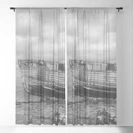 High and Dry Sheer Curtain