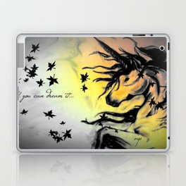 Dreams can be real. Laptop & iPad Skin