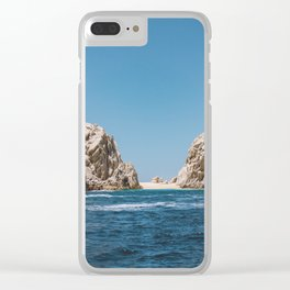 Lovers Beach II Clear iPhone Case