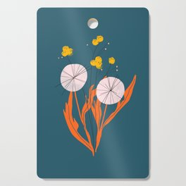 Wildflowers Dancing at Dusk Cutting Board