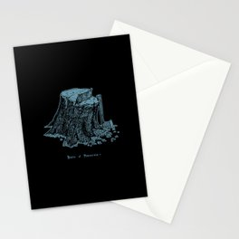 Birth of Pinocchio (black version) Stationery Cards