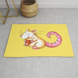 The Perfect Slice Rug