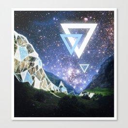Triangula Canvas Print