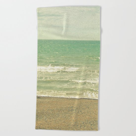 The Sea, the Sea Beach Towel