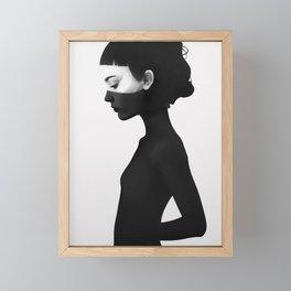 I'm Not Here Framed Mini Art Print