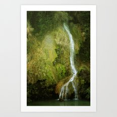 Li River Waterfall Art Print