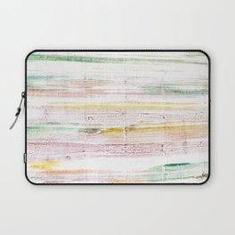 Baby powder abstract watercolor Laptop Sleeve