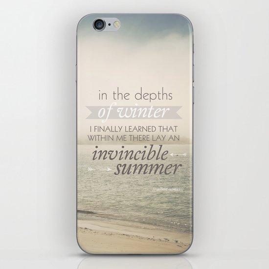 Invincible Summer iPhone & iPod Skin