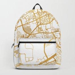MANAMA BAHRAIN CITY STREET MAP ART Backpack