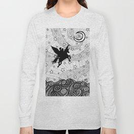Flight of the alicorn Long Sleeve T-shirt