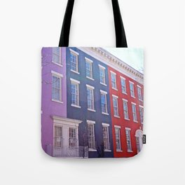 Colourful Streets Greenwich Village, NYC Tote Bag