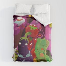 panic in the kitchen Comforters